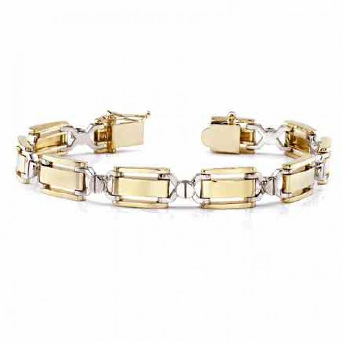 Designer 14k Gold Men S Bracelet