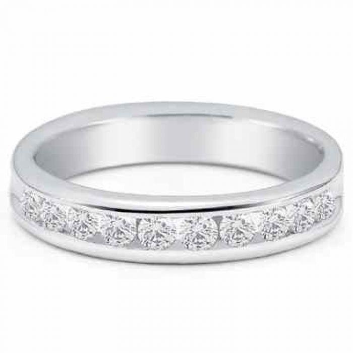 Wedding Rings Men S 3 4 Carat Diamond Wedding Band