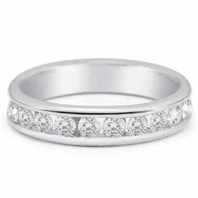 Women s 0.75 Carat Diamond Wedding Band -  - SHR-S53-6