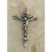 Sterling Silver Crucifix, Russia, 18th Century, 2 1/4 in.