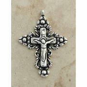 Sterling Silver Crucifix, Russia, 18th Century, 2 in.