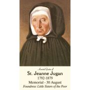 St. Jeanne Jugan Prayer Card - (50 Pack)