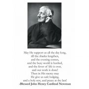 Blessed John Henry Cardinal Newman Large Prayer Cards (50 pack)