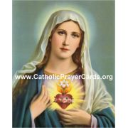 Consecration to the Immaculate Heart of Mary Prayer Card (50 pack)