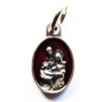 Holy Family Red Catholic Patron Saint Religious Charm (25 pack)