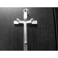 Italian 1.75 inch SCX65 Crucifix