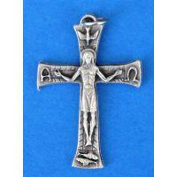 Italian Christ Millenium Crucifix 1.5 inch