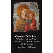 Madonna Della Strada Prayer Card (50 pack)