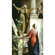 Magnificat / Visitation Prayer Card (50 pack)