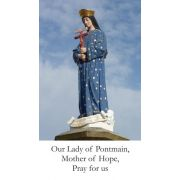 Our Lady of Pontmain, Mother of Hope Prayer Card (50 pack)