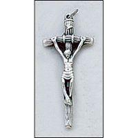 Papal Italian Crucifix 2 inch