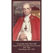 Pope Pius XII Social Justice Prayer Card (50 pack)