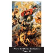 Prayer for Divine Protection - Psalm 91 Holy Card (50 pack)