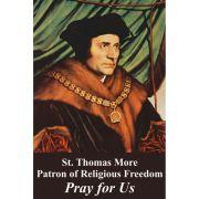 Religious Liberty Prayer Card - St. Thomas More - English (50 pack)