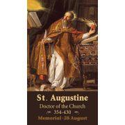 Saint Augustine Prayer Card (50 pack)