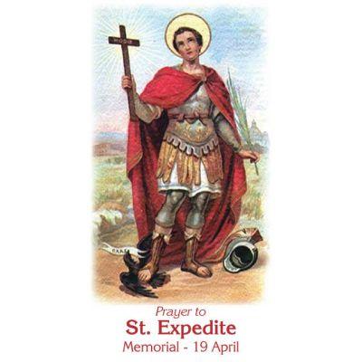 Saint Expedite Prayer Cards (50 pack) -  - PC-437