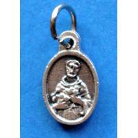 Saint Francis of Assisi Catholic Patron Saint Religious Charm 50 pack