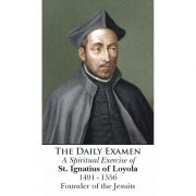 Saint Ignatius of Loyola - Daily Examen Prayer Card (50 pack)