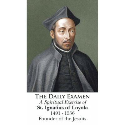 Saint Ignatius of Loyola - Daily Examen Prayer Card (50 pack) -  - PC-468