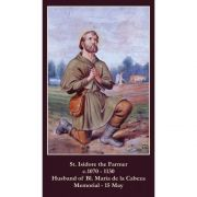 Saint Isidore the Farmer Prayer Card (50 pack)