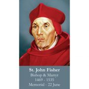Saint John Fisher Prayer Card (50 pack)
