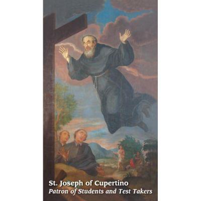 Saint Joseph of Cupertino Prayer Card (50 pack) -  - PC28