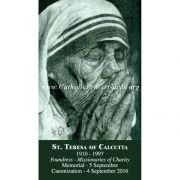 Saint Teresa of Calcutta - Mother Teresa Prayer Card (50 pack)