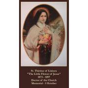 Saint Therese Novena Prayer Card (50 pack)