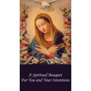 Spiritual Bouquet Holy Card (50 pack)