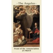 The Angelus Prayer Card (50 pack)