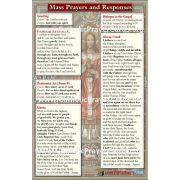 Updated Catholic Mass Translation Pew Prayer Cards (50 pack)