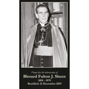 Venerable Archbishop Fulton J. Sheen Prayer Card (50 pack)