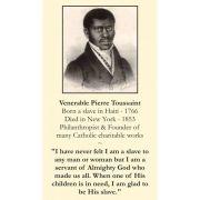 Venerable Pierre Toussaint Prayer Card (50 pack)