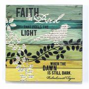 Wall Plaque House Blessing - 12 X 12 Faith