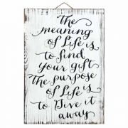 Wall Plaque House Blessing - 14 X 20 Horz.the Mean