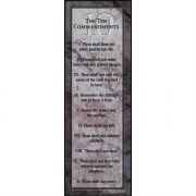 Bookmark Ten Commandments Stone Pack of 6