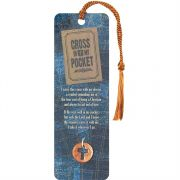 Bookmark Coin Penny/Cross In My Pocket Pack of 15