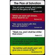 Bookmark Plan of Salvation Pocket card Pack of 12