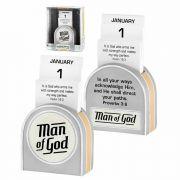 Perpetual Calendar  Man Of God Resin - (Pack of 2)