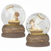 Waterglobe Resin Mary Knew - (Pack of 2)