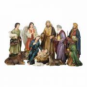 Nativity Set 10 Piece 12 Removable Baby