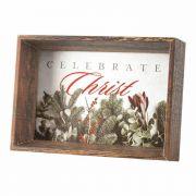 Photo Frame Tabletop Celebrate Christ Mdf 4x6(h)
