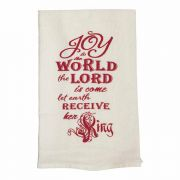 Towel Floursack Joy To The World 18x22 - (Pack of 2)