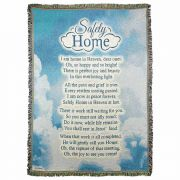Throw Rug Safely Home Cotton 52x68
