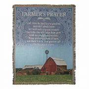 Throw Rug Farmer's Prayer Tapestry 52x68