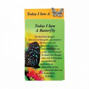 Lapel Pin I Saw Butterfly Zinc Alloy 4 - (Pack of 6)