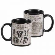 Mug Armor Of God Crmic 11 Oz Blk - (Pack of 2)