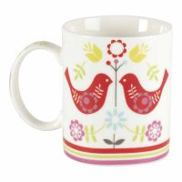 Mug Birds For Where Two Or Three China - (Pack of 2)
