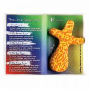 Tabletop Tabletop Cross Fimo Teach Me Handy Prayer Org/yel - (Pack of 2)
