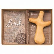 Wood The Cross One Hand Prayer Jer. 29:11 - (Pack of 3)